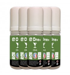 LOT DE 5 E-LIQUID E ONE + 10ML COLA 5MG/ML