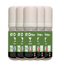 LOT DE 5 E-LIQUID E ONE + 10ML COLA 9MG/ML