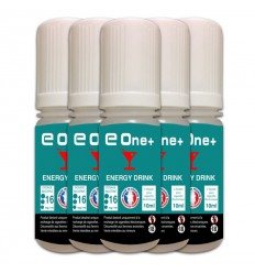 LOT DE 5 E-LIQUID E ONE + 10ML ENERGY DRINK 16MG/ML