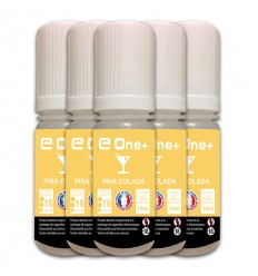 LOT DE 5 E-LIQUID E ONE + 10ML PINA COLADA 16MG/ML