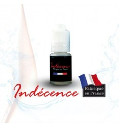 "E-LIQUIDE FRANCAIS INDECENCE 0 mg 10 ml COCKTAIL ""PECHE MELBA"""" (VANILLE/PECHE)"