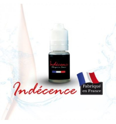 "E-LIQUIDE FRANCAIS INDECENCE 0 mg 10 ml COCKTAIL ""GOURMANDISE""(ORANGE/VANILLE/FRAMBOISE)"