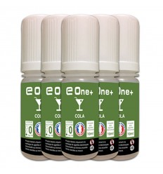 LOT DE 5 E-LIQUID E ONE + 10ML COLA 0MG/ML