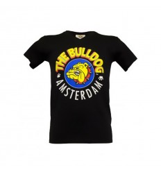 THE BULLDOG T-SHIRT HOMME NOIR L