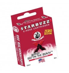 LOT DE 4 CARTOUCHES E-HOSE SEX ON THE BEACH STARBUZZ
