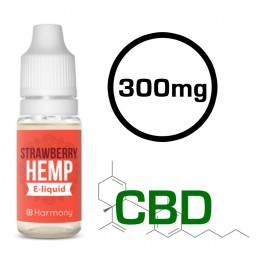 E-liquide CBD Classic Strawberry - CBD 300mg 10ml - Harmony