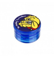 THE BULLDOG GRINDER PLASTIC TC BLUE 3 PARTS