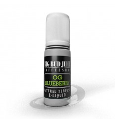 E-liquide OG Blueberry 10ml - Terpène naturel, nicotine 0mg - Big Bud Juice