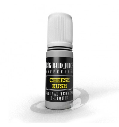 E-liquide Cheese Kush 10ml - Terpène naturel, nicotine 0mg - Big Bud Juice