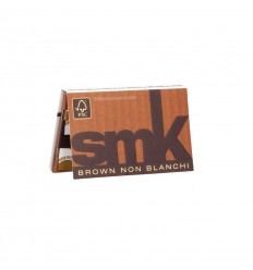 SMK CARNET FEUILLES REGULAR BROWN (120F/CARNET)