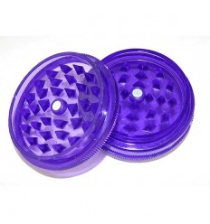 Grinder acrylique 2 parts diamètre 50 mm violet