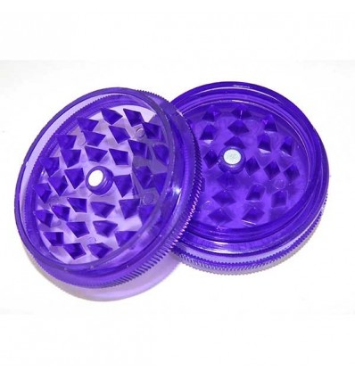 GRINDER ACRYLIQUE 2 PARTS DIAM 50MM VIOLET