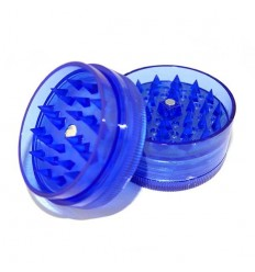 GRINDER ACRYLIQUE 4 PARTS DIAM 50MM BLEU