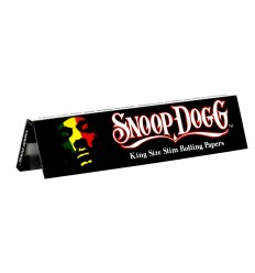 "LE CARNET DE 32 FEUILLES A ROULER KING SIZE SLIM ""SNOOP DOG"