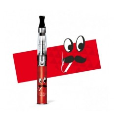 MA CLOPE ICON MC MOUSTACHE ROUGE