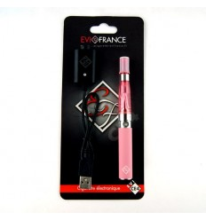 E-CIGARETTE EGO FRANCE EGO-CE4 BLISTER 650MAH ROSE