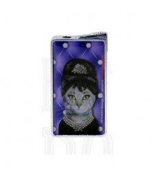 PETS ROCK - BRIQUET PIEZO DL-12 - CHAT AUDREY HEPBURN