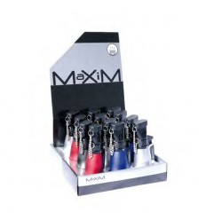 MAXIM - BRIQUET 3 FLAMMES BLEUES COLLEVILLE DL-12 ROUGE