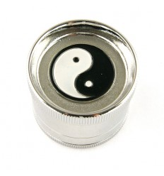 "Grinder alu 4 parts diamètre 52 mm ""Yin Yang"""