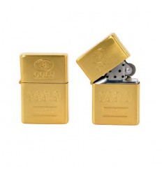 "CHAMP - Briquet type Essence DL-12 ""Gold"""