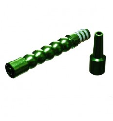 EMBOUT ADAPTATEUR POUR TUYAU SILICONE - METAL VERT