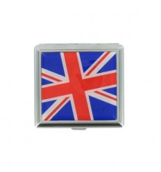 ETUI A CIGARETTES EPOXY CARRE - DRAPEAU UK