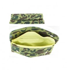 HOUSSE A TABAC POUR PIPE CAMOUFLAGE VERT ZIP
