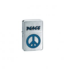 BELFLAM OIL - LE BRIQUET ESSENCE PEACE BLEU MODELE 1