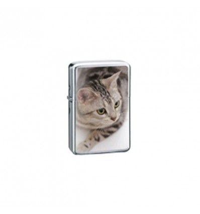 BELFLAM OIL - LE BRIQUET ESSENCE TETE CHAT MODELE 1
