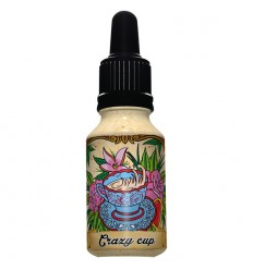 X-BUD E-LIQUIDE 15 ML CRAZY CUP 0MG