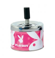 PLAYBOY - CENDRIER POUSSOIR ROSE