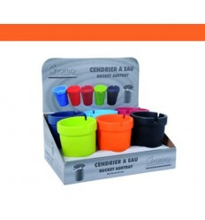 CHAMP - CENDRIER A EAU H.11CM DL-6 - ORANGE