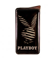 PLAYBOY - BRIQUET FLAMELESS PEAU ZEBRE