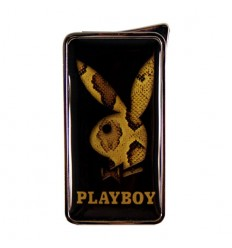 PLAYBOY - BRIQUET FLAMELESS PEAU SERPENT