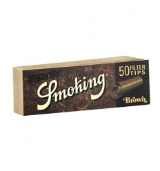 SMOKING CARNET DE FILTRES CARTON BROWN (50F/CARNET)