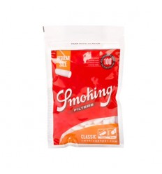 SMOKING SACHET DE FILTRES ACETATE REGULAR ORANGE 8MM (100F/SACHET)
