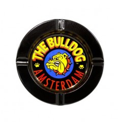 THE BULLDOG CENDRIER METAL NOIR