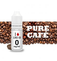 E-LIQUIDE I LIKE-ID PURE CAFE 10ML 0MG
