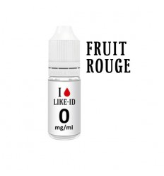 E-liquide I Like-ID 10ml Fruit Rouge 0mg